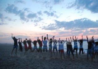 Campamento internacional de surf e inglés en Celorio-11