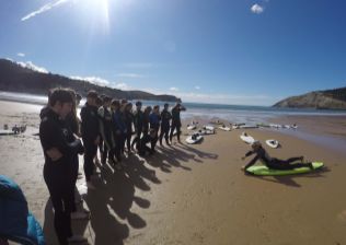 SURFCAMP EN BIZKAIA