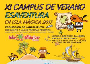 Campamento de verano en sevilla campus urbano isla m gica 2017 actividades acu ticas - Ofertas isla magica 2017 ...
