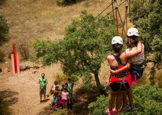 Campamentos Over Limit Kids multiaventura
