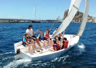 Colonias náuticas Águilas (Murcia) - Campamento Playa.