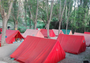 Cabañas Camping Sierra de Peñascosa-7