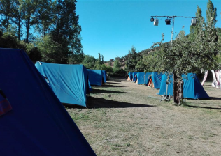 Cabañas Camping Sierra de Peñascosa-17