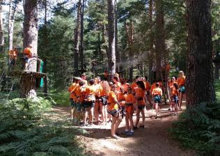Campamento Internacional en S.L. de El Escorial - Inglés, Francés y Español-10
