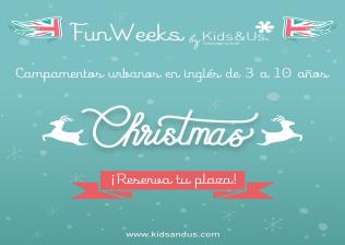 Campamento en Inglés Christmas - Kids&Us Boadilla del Monte
