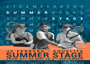 Summer Stage - Tenis en JCFerrero-Equelite Sport Academy-1