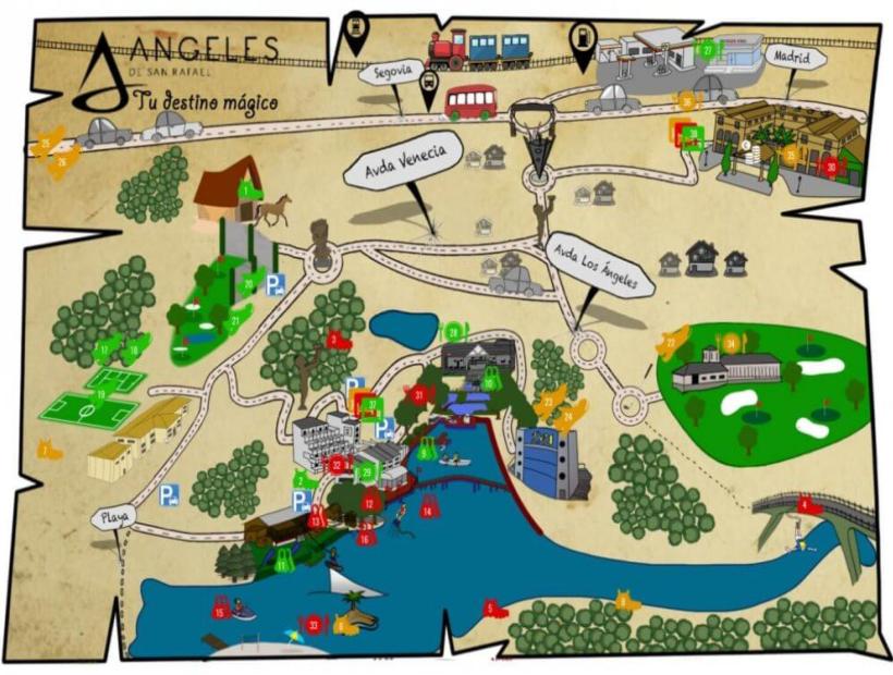 Summer Camp Los Ángeles de San Rafael
