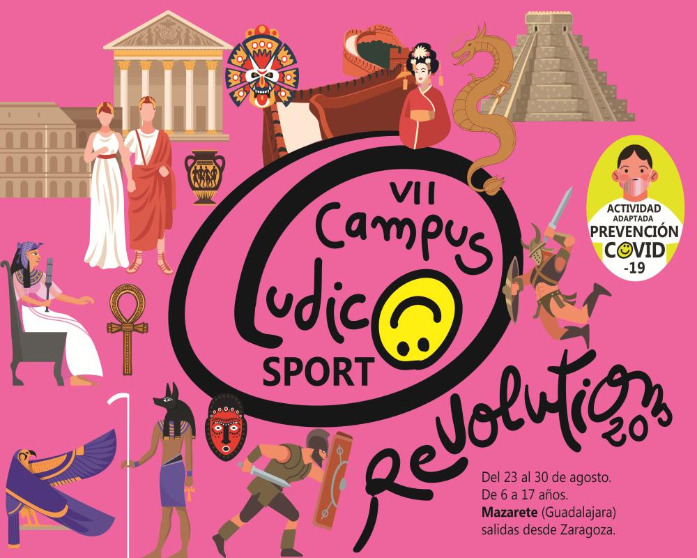 VII CAMPUS LUDICOSPORT 2020 Revolutions